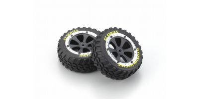 Tire & Wheel Set (SAND MASTER) EZ002