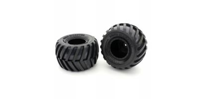GluedTire&Wheel(FZ-02L-BT/BK/Soft/2pcs) EZTH001BKS