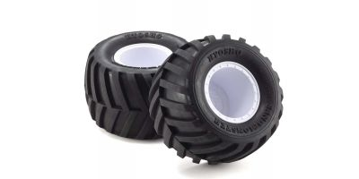 GluedTire&Wheel(FZ-02L-BT/W/Soft/2pcs)EZTH001WS