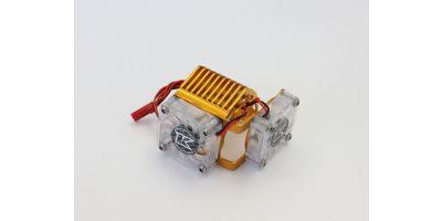 アルミモーターヒートシンク(ダブルクーリングファン/EZシリーズ) EZW011