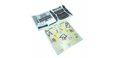 SUBARU Impreza KX2 Decal Set FAB153-1