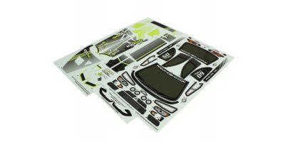 Decal Set Lancer Evolution X KX3 FAZER FAB157-1