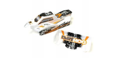Printed Body set/T1 Orange (Dirt Hog) FAB203