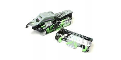 Printed Body set/T2 Green (Dirt Hog) FAB204
