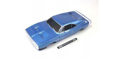 塗装済完成ボディセット (チャージャー1970 T1 ブルー) FAB403
