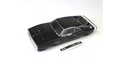 塗装済完成ボディセット (チャージャー1970 T2ブラック) FAB404