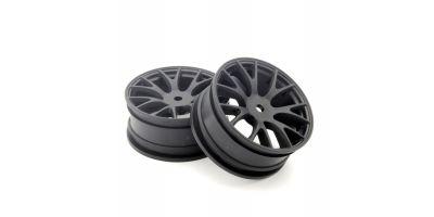 Wheel FZ02 (Muscle Car /Black) (2pcs) FAH701BK