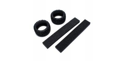 Neo Bloc Tire w/Inner (2pcs/RAGE VE) FAT301