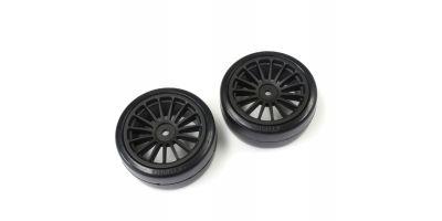 ドリフトタイヤ(接着済/ブラック/2pcs)FAZER Ve-X FAT302BK