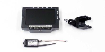 2.4GHz FPVシステム KYOSHO オンボードモニター 82724