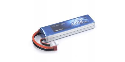 Gens ace LiPo 4000 (45C/14.8V/ソフトパック) GAB2401