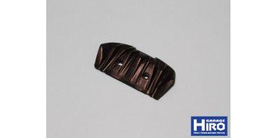 マクラーレンP1 ディフューザー ver.1(未塗装・ブラックレジン) KOS-GHA199