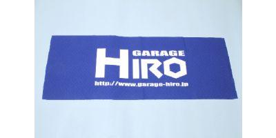 「GARAGE HIRO」 ロゴビックタオル Ver.1 800x420mm KOS-GHG009