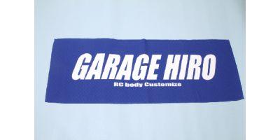 「GARAGE HIRO」 ロゴビックタオル Ver.2 800x420mm KOS-GHG010