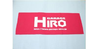 「GARAGE HIRO」 ロゴビックタオル Ver.3 800x420mm KOS-GHG011