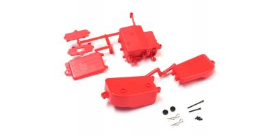 Battery&Receiver Box Set(F-Red/MP10/MP9) IFF001KRB