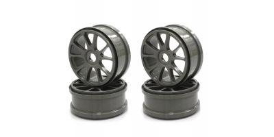 Ten-Spoke Wheel(Gun Metallic/4pcs) IFH002GMB