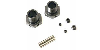Wheel Hub (Narrow/Gunmetal/2pcs/MP10) IFW625N