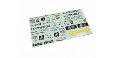 Sponsor Decal(CHEVROLET CORVETTE C6-R 20 IGB152-1