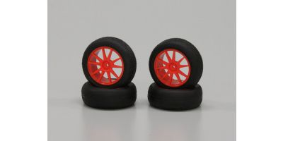 Micro-X Tire With Wheel(Orange/Mini Infe IHTH05KO