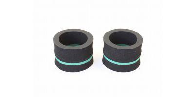 KOS PLAZMA12ファイト コントロールタイヤ(F/グリーン/2入) KOS-T12F-GR