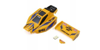 Body Set(TURBO OPTIMA Mid Special/Yellow) MBB09Y