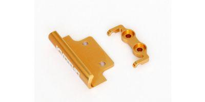 アルミフロント&リヤバンパーセット (ゴールド)  MBW029G