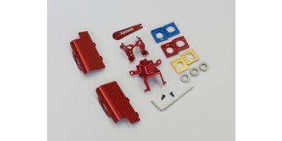Aluminum Heatsink Parts(Red/for MB-010) MBW2013HR
