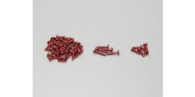 Color Screw Set(Red) MMF01R