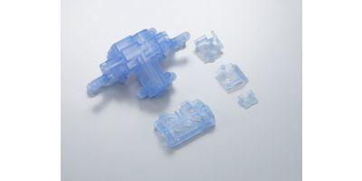 Skeleton Servo Case Set(Clear Blue) MMF03CB