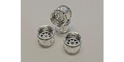 Wheel Set(MAD FORCE/Chrome Type) MMH01CM