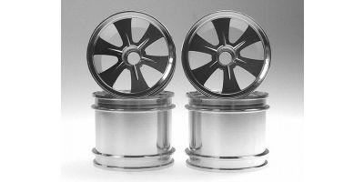 Al-Wheel for MINI-Z MONSTER(SILVER) MMH10S