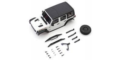 MX-01 JEEP WRANGLER RUBBICON White MXB01W