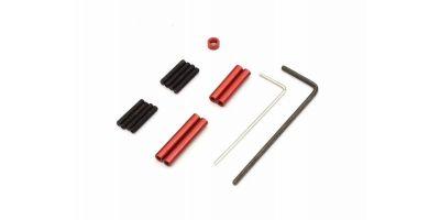 アルミリンクロッドセット(ホイルベース110mm用) MXW001R