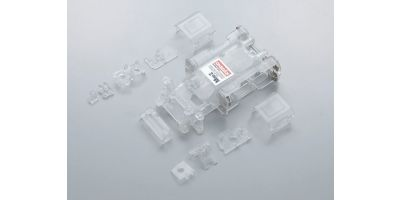 Skeleton Chassis Set(Clear/MR-015) MZF151C