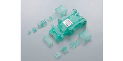 Skeleton Chassis Set(Clear Green/MR-015) MZF151CG