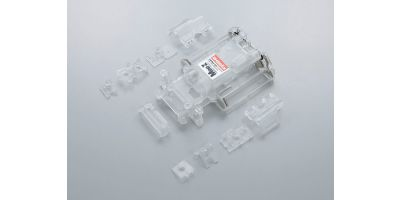 Skeleton Chassis Set(Clear/MR-02) MZF201C