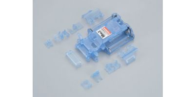Skeleton Chassis Set(Clear Blue/MR-02) MZF201CB
