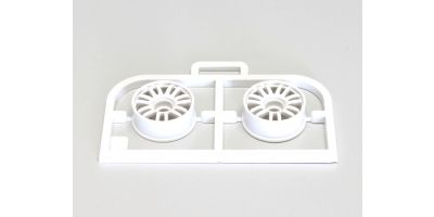 Multi Wheel II N/Offset 0(White/RE30/2pc MZH131W-N0