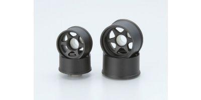 Wheel Set LM(6 Spoke / Black) MZH303BK