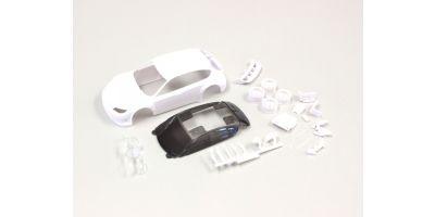 スバル インプレッサWRC2008 ホワイトボディセット(ホイール付) MZN160