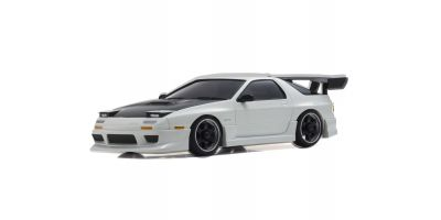 R/C EP Touring Car Mazda Savanna RX-7 FC3S Aero version with carbon bonnet White 32163CW