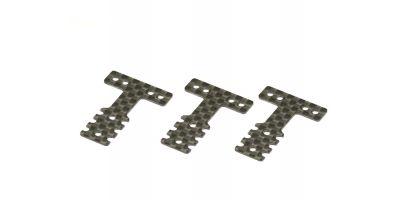 Carbon RearSus.Plate(Soft/MM/LM/MM2/3pcs MZW403S