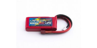 nVision LiPo 3s 11,1V 1000 30C Deans NVO1807