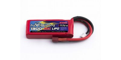 nVision LiPo 3s 11,1V 1300 30C Deans NVO1808