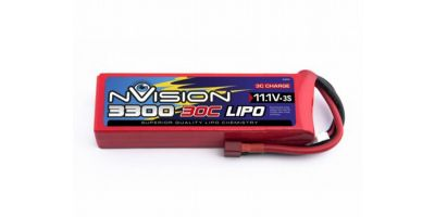 nVision LiPo 3s 11,1V 3300 30C Deans NVO1812