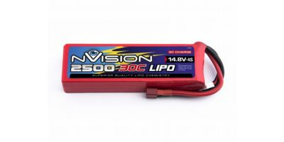 nVision LiPo 4s 14,8V 3700 30C Deans NVO1815