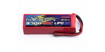 nVision LiPo 22.2V-3700 (30C) Deansプラグ NVO1817