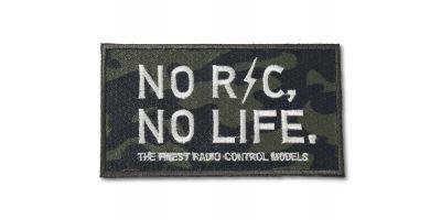 【オンライン限定】NO RC NO LIFEパッチ(グリーンカモフラ)雄ベルクロ付き ONF902