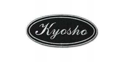 【オンライン限定】KYOSHOパッチ(ブラック筆記体)雄ベルクロ付き ONF904